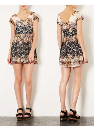 Кружевное платье на невысокий рост