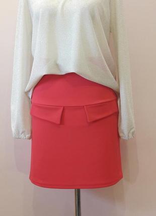 Шикарная красная юбка
