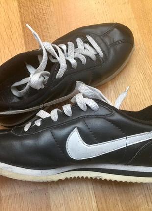 Оригинальные кроссовки nike air кеды кожаные эко кожа эспадрилье