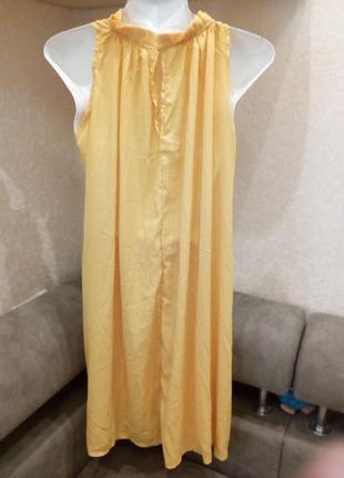 Яркое платье балахон. s платье балахон. s                распродажа3 фото