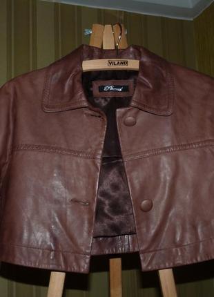 Курточка, натуральная кожа, италия phard рs !