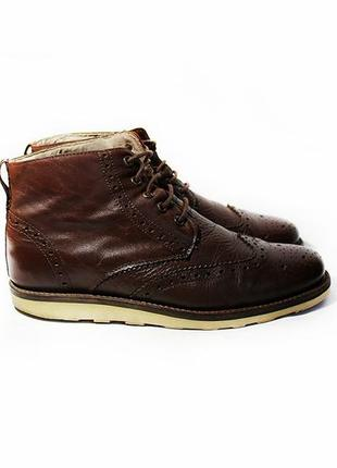 Кожаные ботинки броги river island