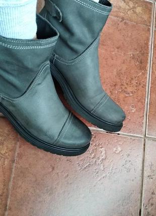 Ботинки из натуральной кожи, италия