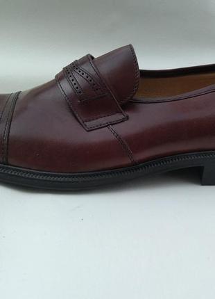 Новые кожаные туфли gallus австрия р.41,5 7,5 мужские
