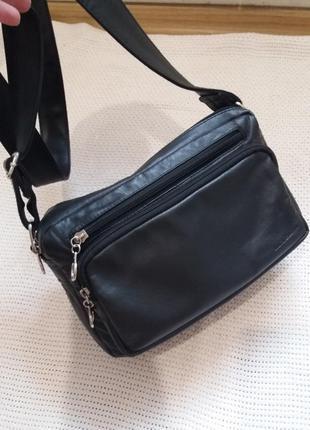 Кожаная сумка luca bocelli