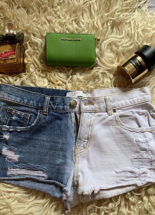 Срочно! крутые джинсовые градиент , омбрэ шорты yes yes, zara, topshop, bershka