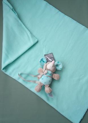 Плед дитячий, одіяльце з іграшкою.