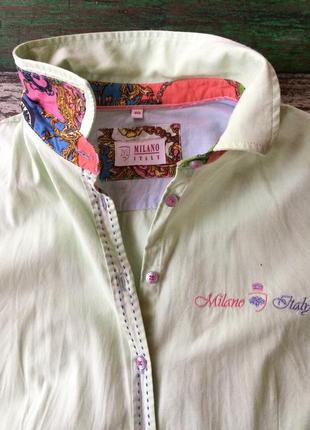 Дизайнерская рубашка milano, италия
