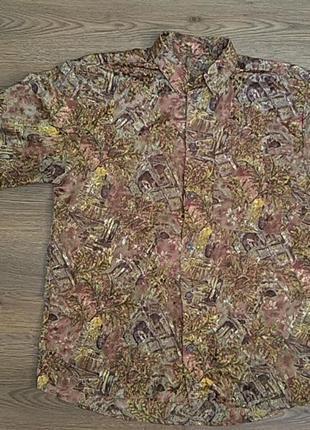 Гавайка , рубашка с коротким рукавом