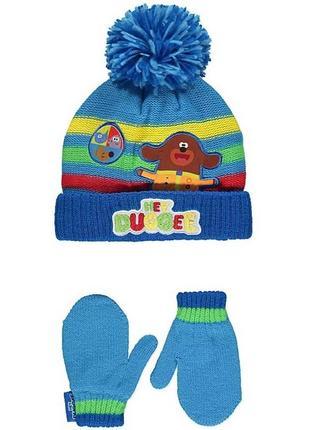 Набор шапка и рукавицы george