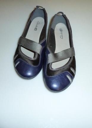 Clarks natural movement туфли, балетки, мокасины