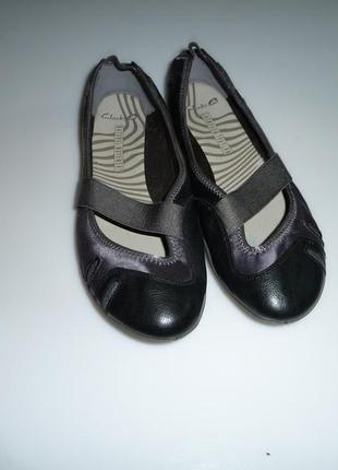 Clarks natural movement туфли, балетки, мокасины кларкс р 7 d