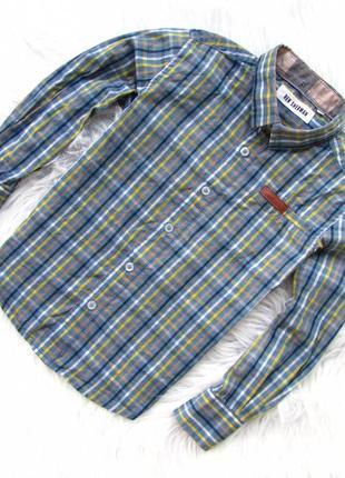 Качественная и стильная рубашка   ben sherman