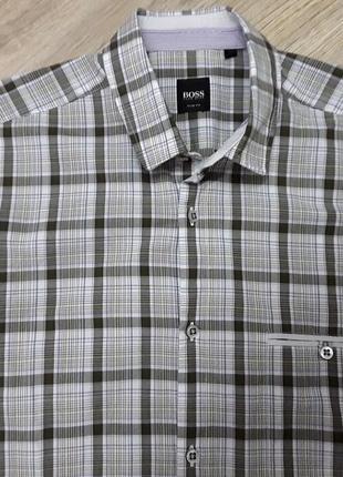 Рубашка hugo boss, оригинал.