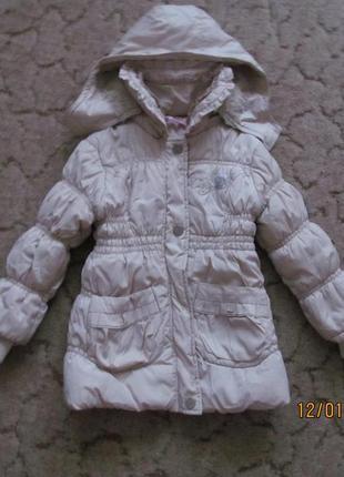 Куртка демисезон бежевая