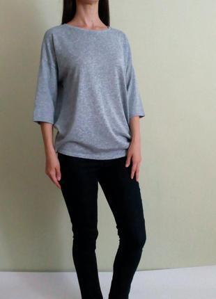 Джемпер, лёгкий свитер с короткими рукавами, трикотажная блуза