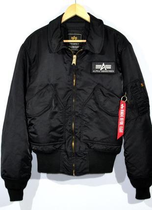 Куртка бомбер alpha industries bonber jacket