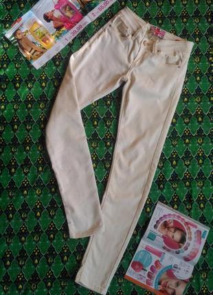Суперские летние джинсы для девочки подростка 36 размер