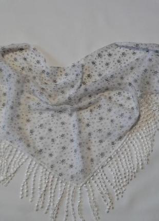 Платок, шарф легкий летний. косынка, хустина