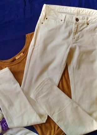 Летние белые джинсы 44-46
