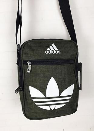 Спортивная сумка-барсетка через плечо ..тканевая сумка. кс1335 фото
