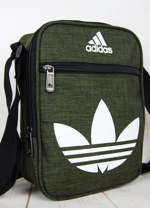 Спортивная сумка-барсетка через плечо ..тканевая сумка. кс1337 фото