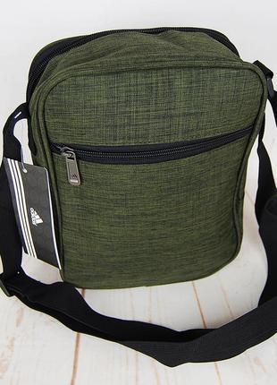 Спортивная сумка-барсетка через плечо ..тканевая сумка. кс1332 фото