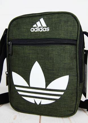 Спортивная сумка-барсетка через плечо ..тканевая сумка. кс1331 фото