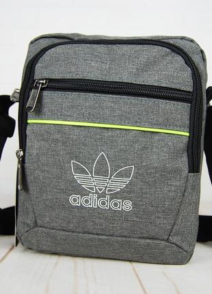 Спортивная сумка-барсетка через плечо  .тканевая сумка. кс129