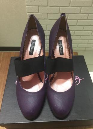 Туфли фиолетовые kira plastinina
