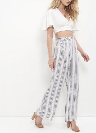 dc469c4c102d Женские брюки в полоску New Look 2019 - купить недорого вещи в ...