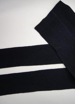 Темно-синие колготы  5-6 лет
