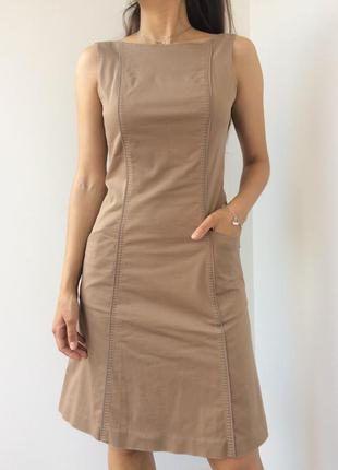 Летнее платье с открытой ажурной спинкой
