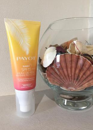 Payot sunny huile de rêve body and hair spf15 сре-во для усиления загара
