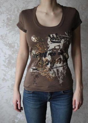 Дизайнерская футболка, оригинал
