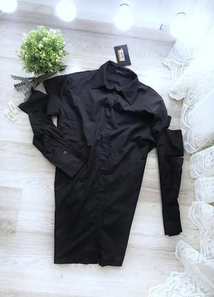 Стильне оверсайз платтячко сорочка від prettylittlething💫