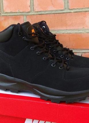 12f33f3f6 Nike manoa ботинки кроссовки кожа нубук оригинал (42.5 - 27.5 см) новые