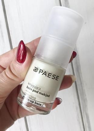 База под макияж корректирующая (correcting make-up base) paese