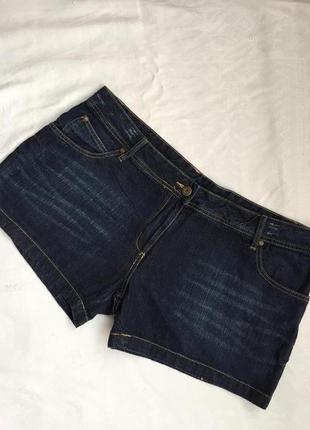 Супер шорты джинсовые короткие 3xl (54)
