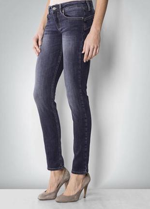 Брендовые джинсы liu jo, синие джинсы с низкой посадкой.