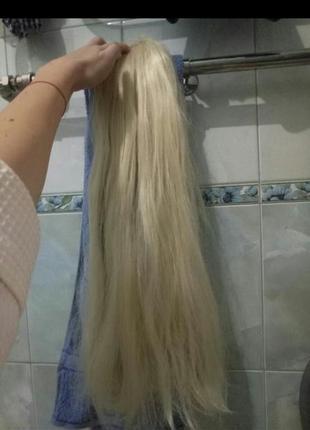 Шиньон хвост хвостик парик