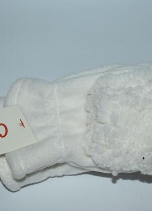 Новые пушистые перчатки митенки cat&jack размер 8-16 оригинал сша
