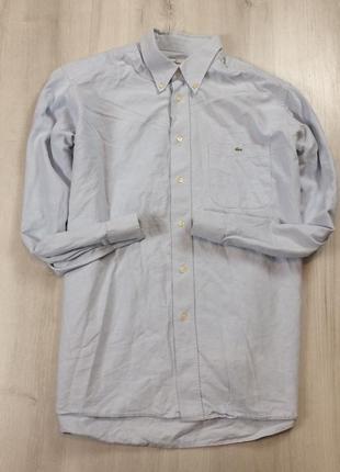 Рубашка lacoste xl мужская лакоста хл