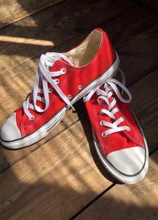 Красные кеды converse 44 размер