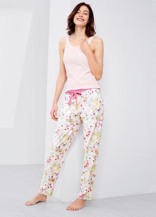 Джерси релакс штаны для дома тсм tchibo германия, размер 40-42 европ., 46-48наш