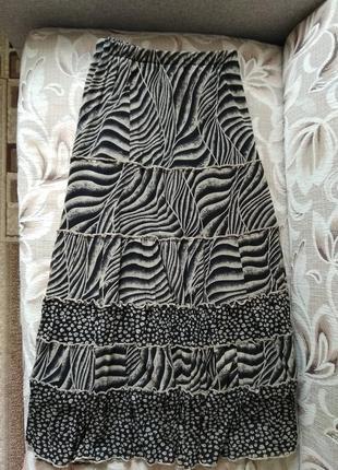 Костюм, юбка и блуза