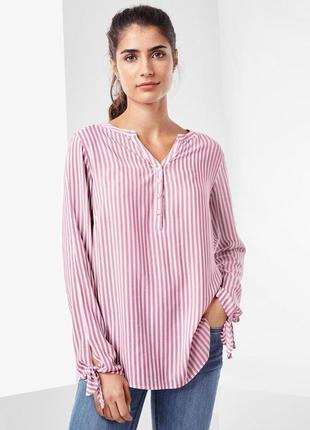 Рубашка-блуза из мягкого материала, tchibo(германия), рр. наши: 44/48 (38 евро)
