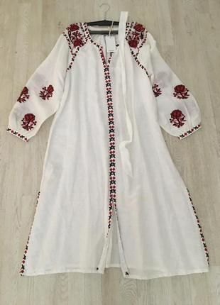 Mango платье вышиванка, s, m2 фото