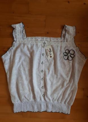 Блуза в романтическом стиле.