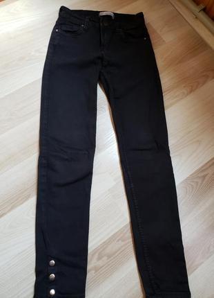 Черные джинси bershka